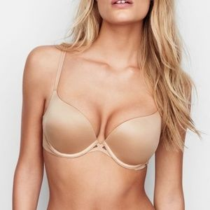 Victoria's Secret Very Sexy Nude Push-up Bra 32C